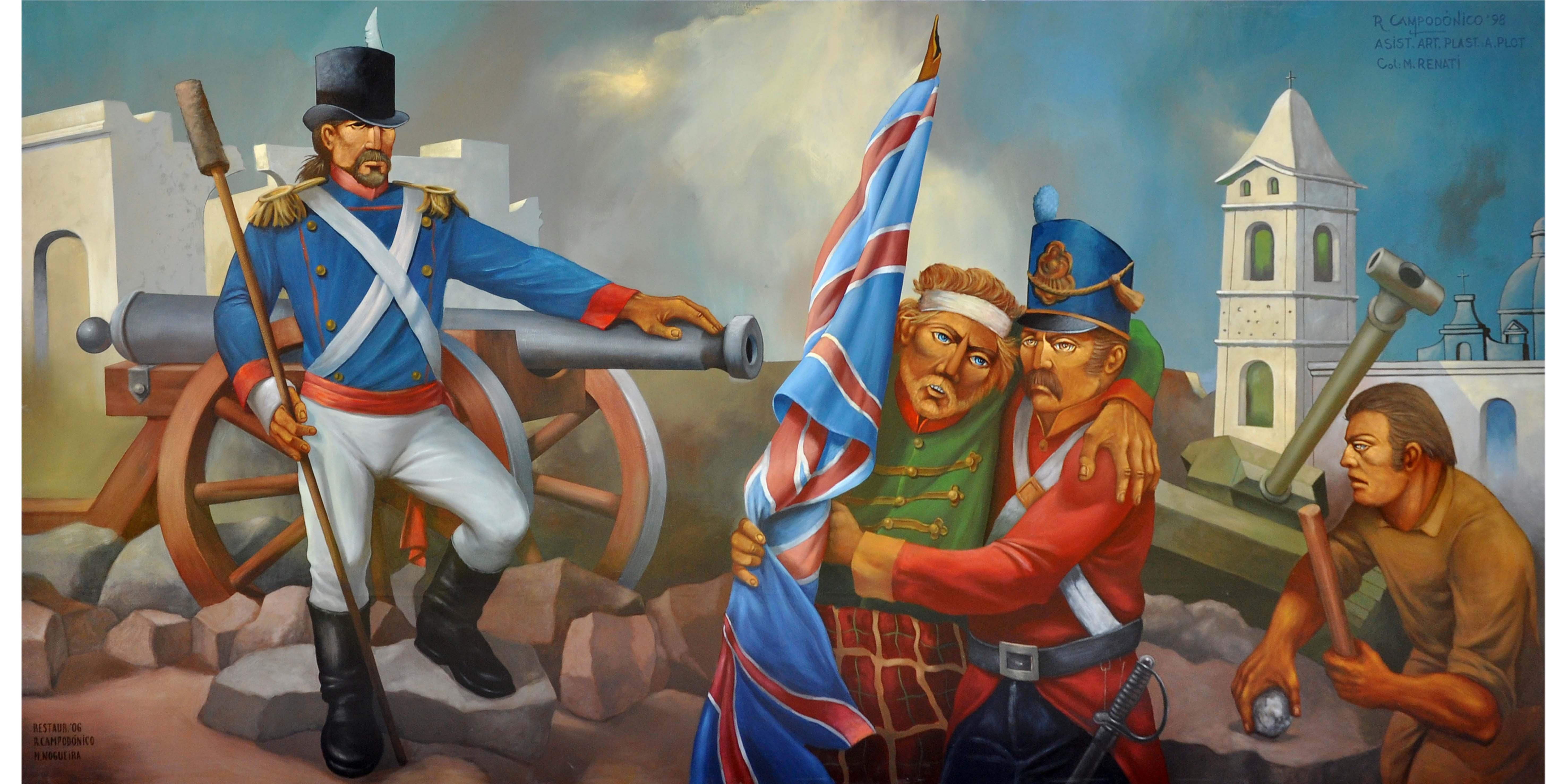 (8) Invasiones Inglesas