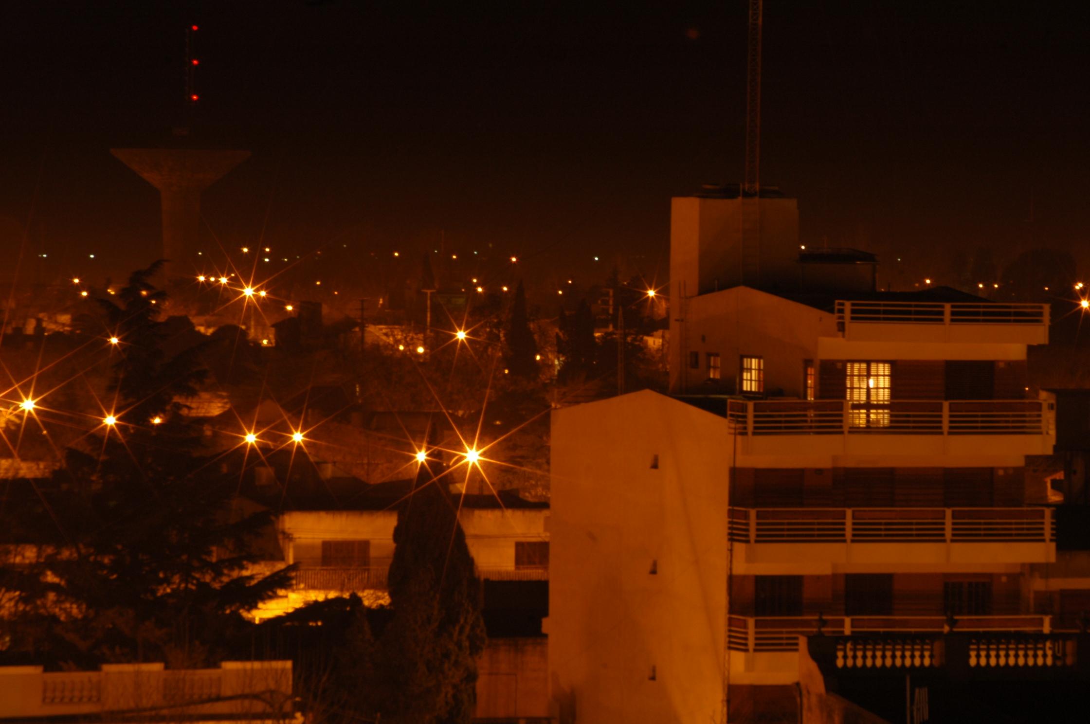 nocturno edificios